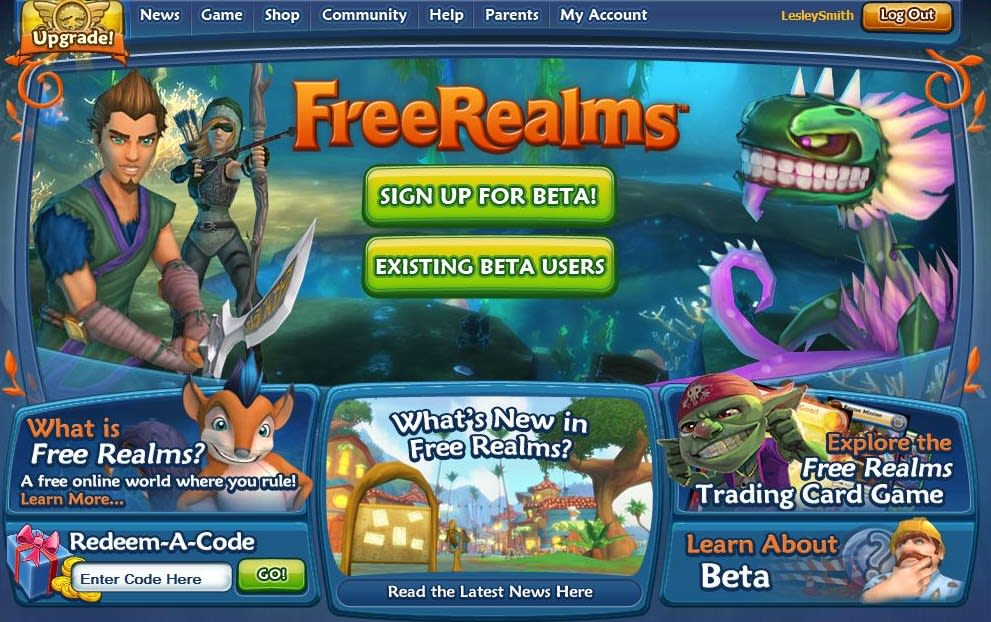 Free Realms: A Beginner's Guide