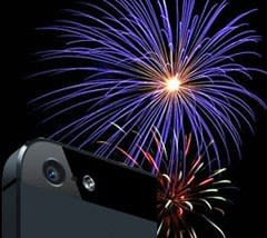 Getting ready for fireworks photography with your iPhone Fireworks Icon Iphone