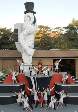 Caption Contest 49 Foot Asimo Makes Trees Dancers Look