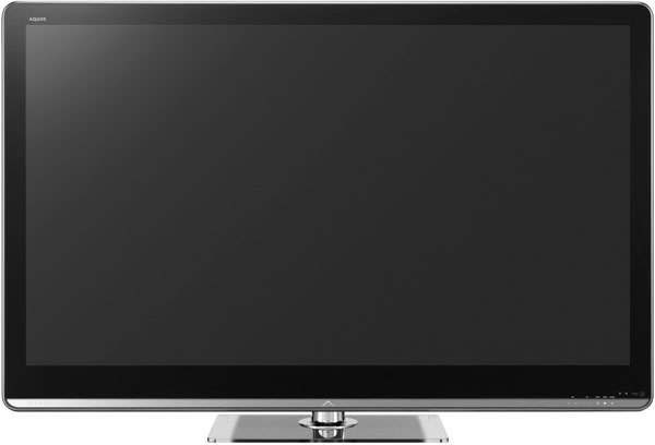 Sharp Debuts 60 Inch 240Hz Aquos LED LCD TV 68 Set With A Touch Of Yellow In Its RGB