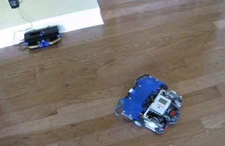Pulito The Lego Mindstorms Swiffer Bot That Seeks Out