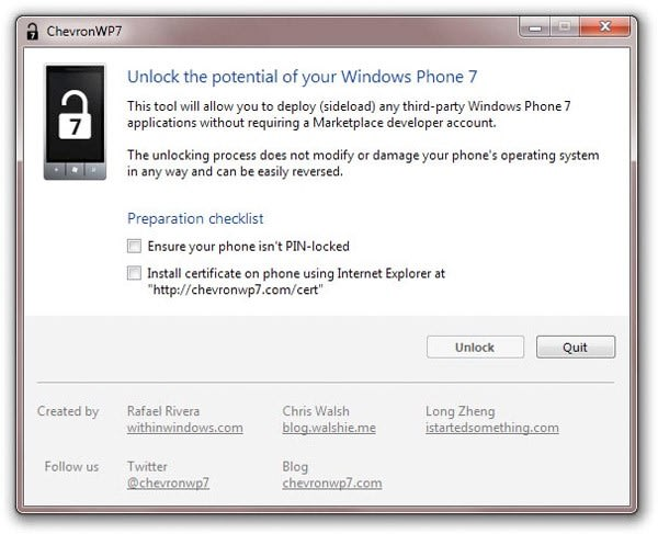 Microsoft: we figured people would hack Windows Phone 7, would