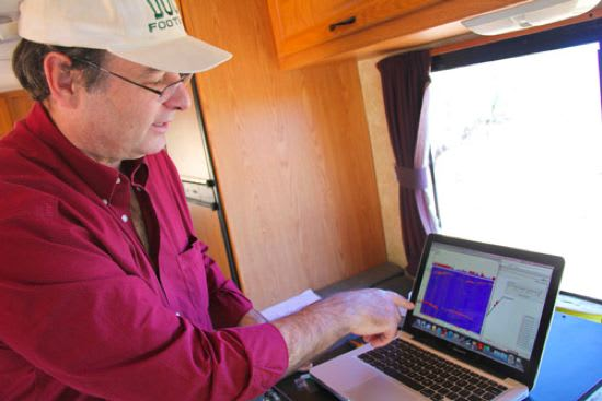 How To Get Lyft Amp >> UA engineers develop 'invisible,' fiber optic border ...