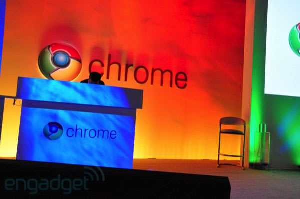 Live from Google's Chrome event!
