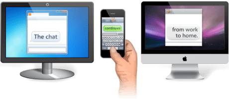 Trillian gets there first, brings Continuous Client features to