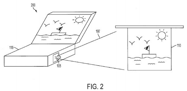 Apple patent application reveals more projector
