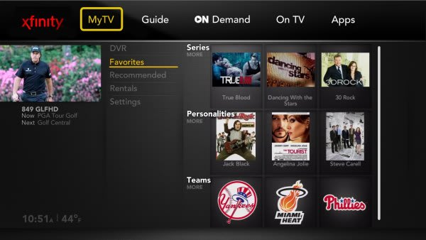 Comcast to show off new Xfinity TV guide with Facebook tie-ins