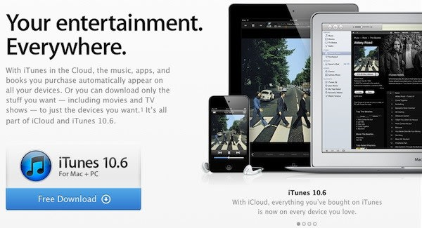 iTunes 10 6 now available for download, includes support for