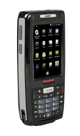 honeywell      patent license  microsoft   android handheld route
