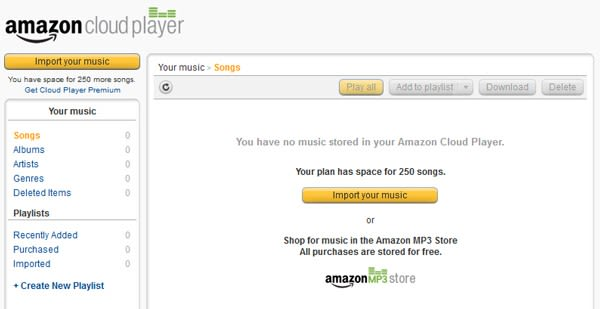 Amazon brings Cloud Player music service to the UK: choice