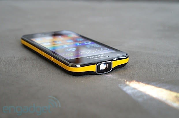 Samsung Galaxy Beam review: stay for the projector, but