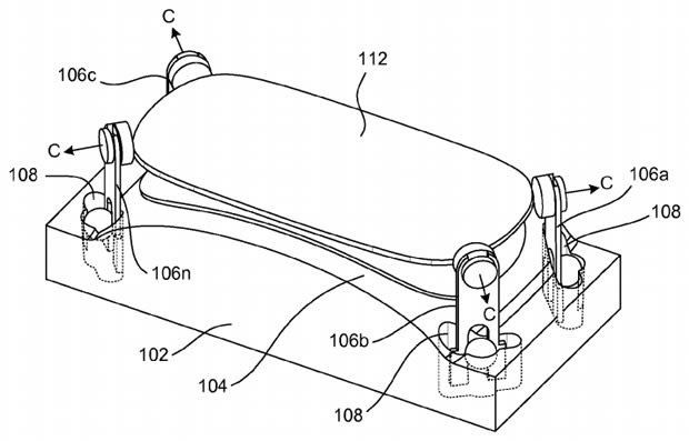 Apple patents a method to refine curved glass for displays