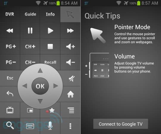 Google TV Remote app for Android gets its first update, with