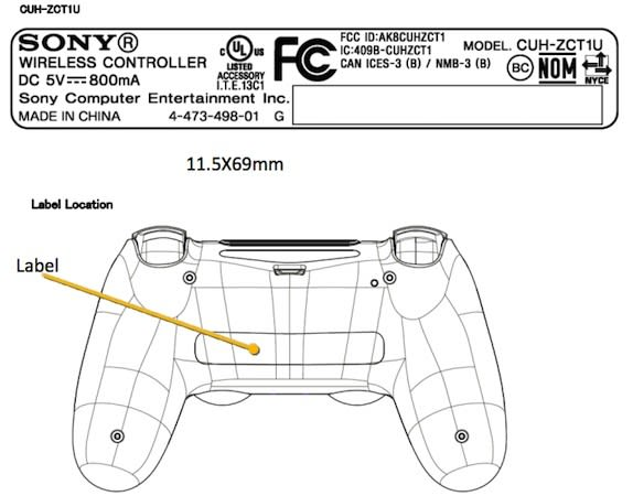 PlayStation 4's DualShock 4 controller passes through the