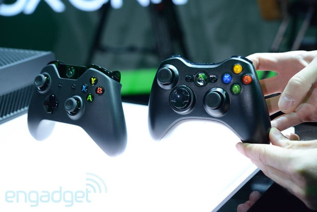 Xbox One Controller Vs Xbox 360 Controller Fight Engadget