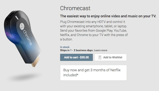 Google introduces Chromecast, a $35 HDMI streaming solution for