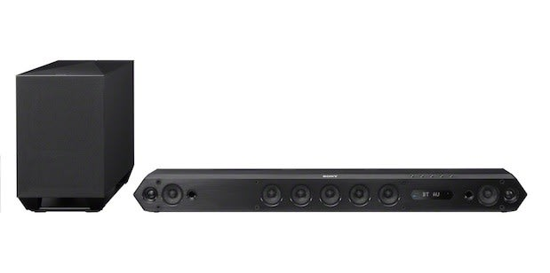 Sony    s    HT      ST7    soundbar melds HiFi with Bluetooth and NFC for  1 299   Engadget
