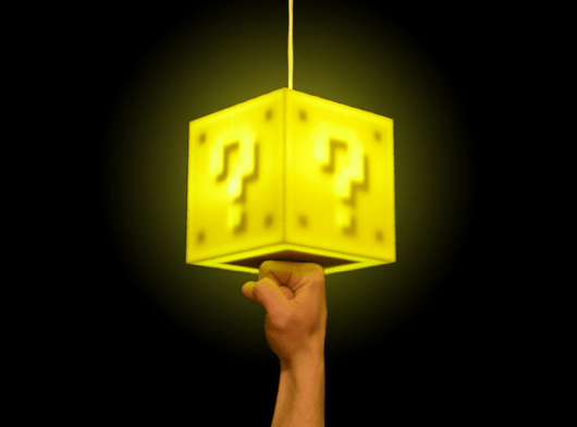 Touch Sensitive Mario Coin Block Lamp Lights Up Our Hearts