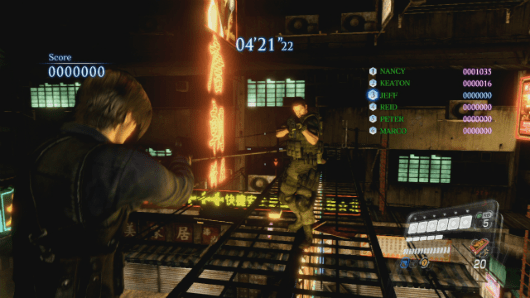 Resident Evil 6 multiplayer DLC now on PS3, Mercenaries map bundle