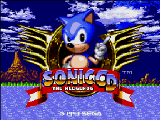 Sonic CD travels through time, lands on Ouya