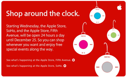 is the apple store open on christmas