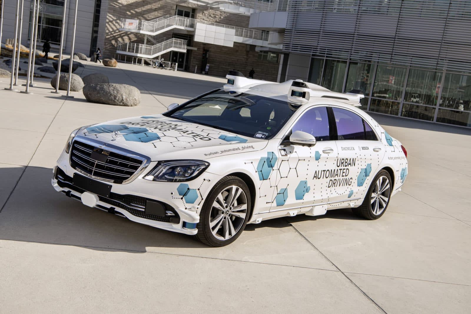 Mercedes and Bosch commence self-driving trials in San ...