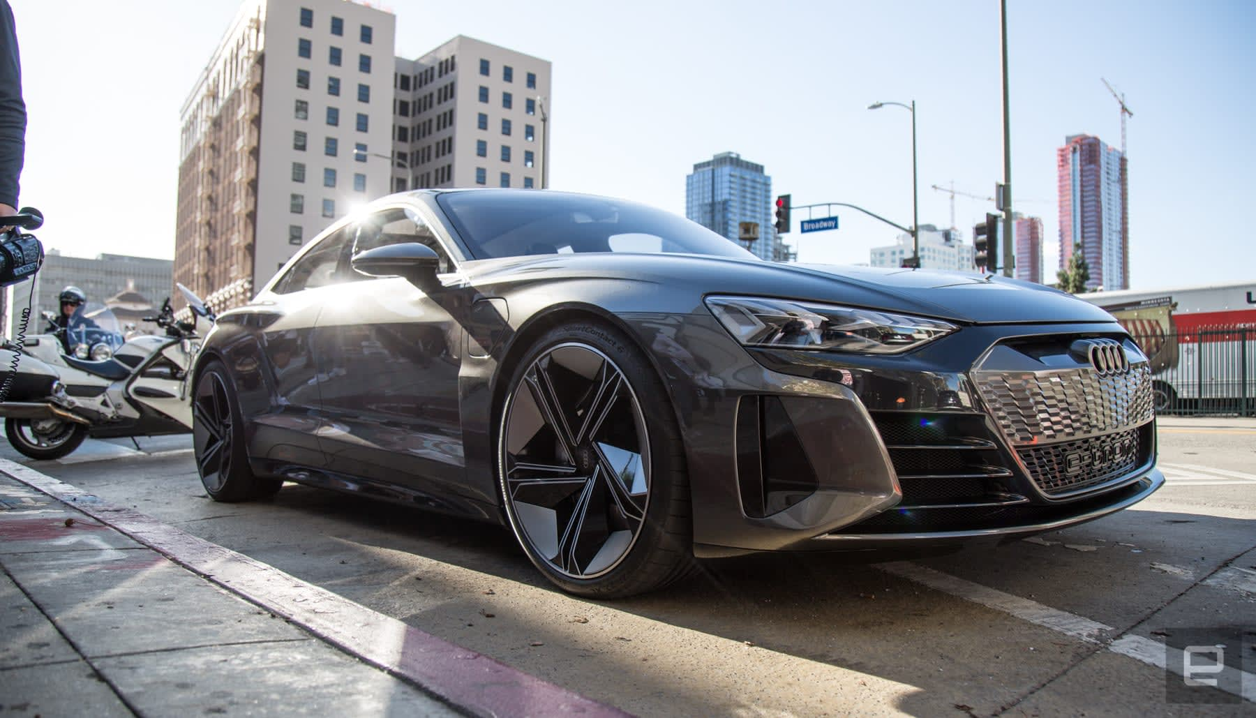 Driving Audi's beautiful E-Tron GT concept car   Engadget