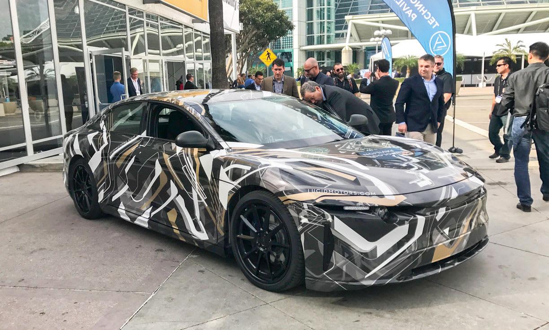 Lucid Motors' super-secret car makes an appearance | Engadget