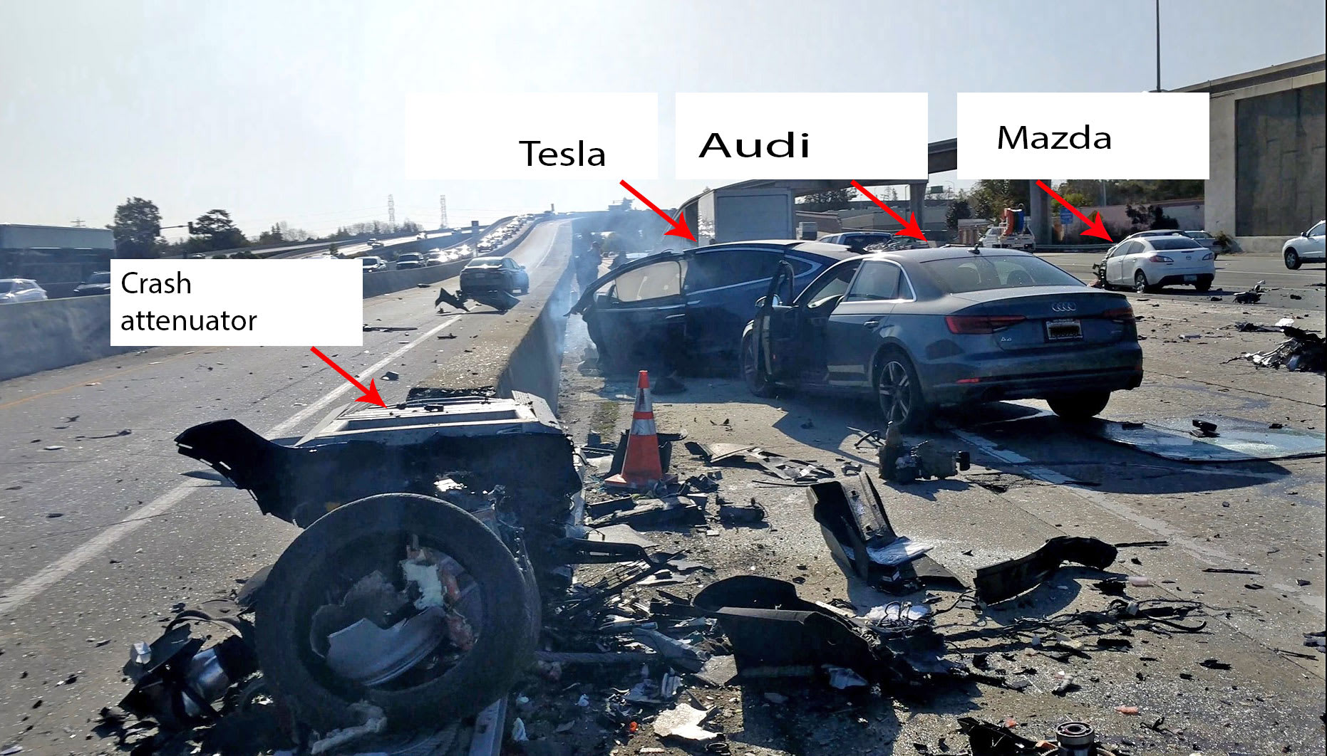 Tesla involved in fatal crash sped up before hitting road ...