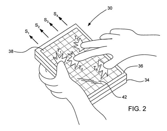 Apple granted patent on capacitive multitouch displays
