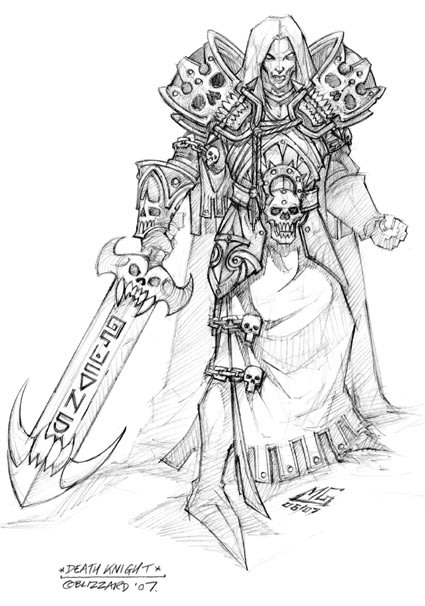 Wrath of the Lich King concept art