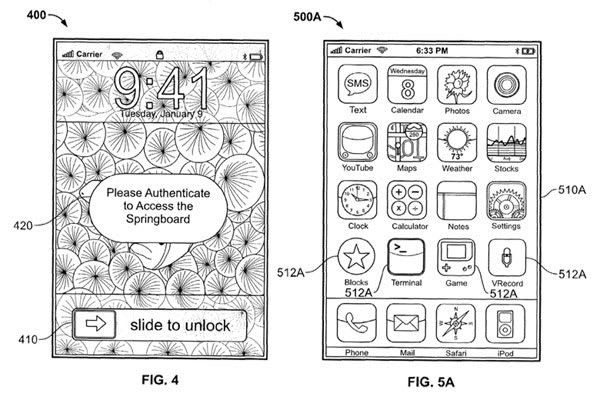 Recent Apple patent filing speaks of stealth biometric