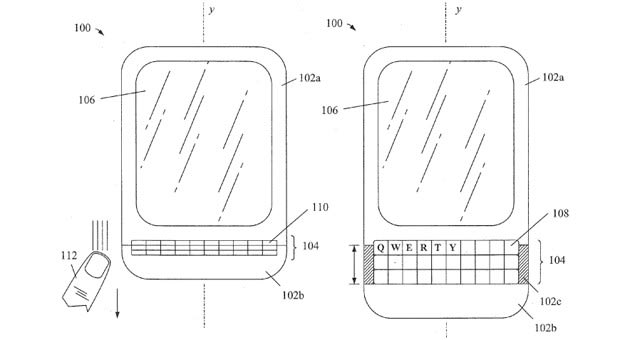 BlackBerry tries for patents on concertina-like keyboards
