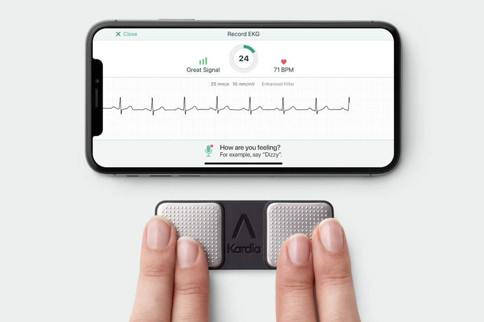 FDA clears first personal ECG device to detect 3 heart arrhythmias