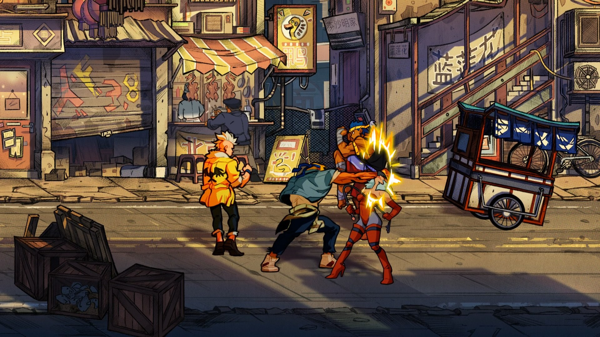 Streets of Rage 4' is shaping up to be a worthy sequel | Engadget