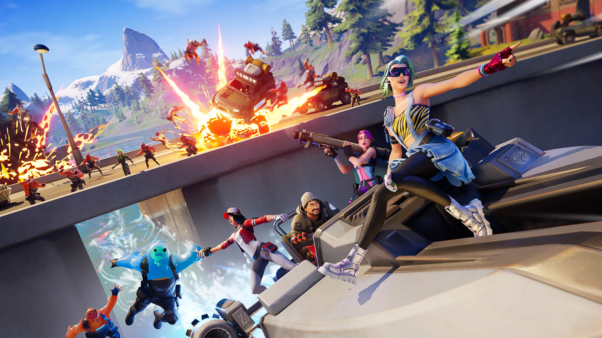 Fortnite Will Be A Ps5 And Xbox Series X Launch Title Engadget