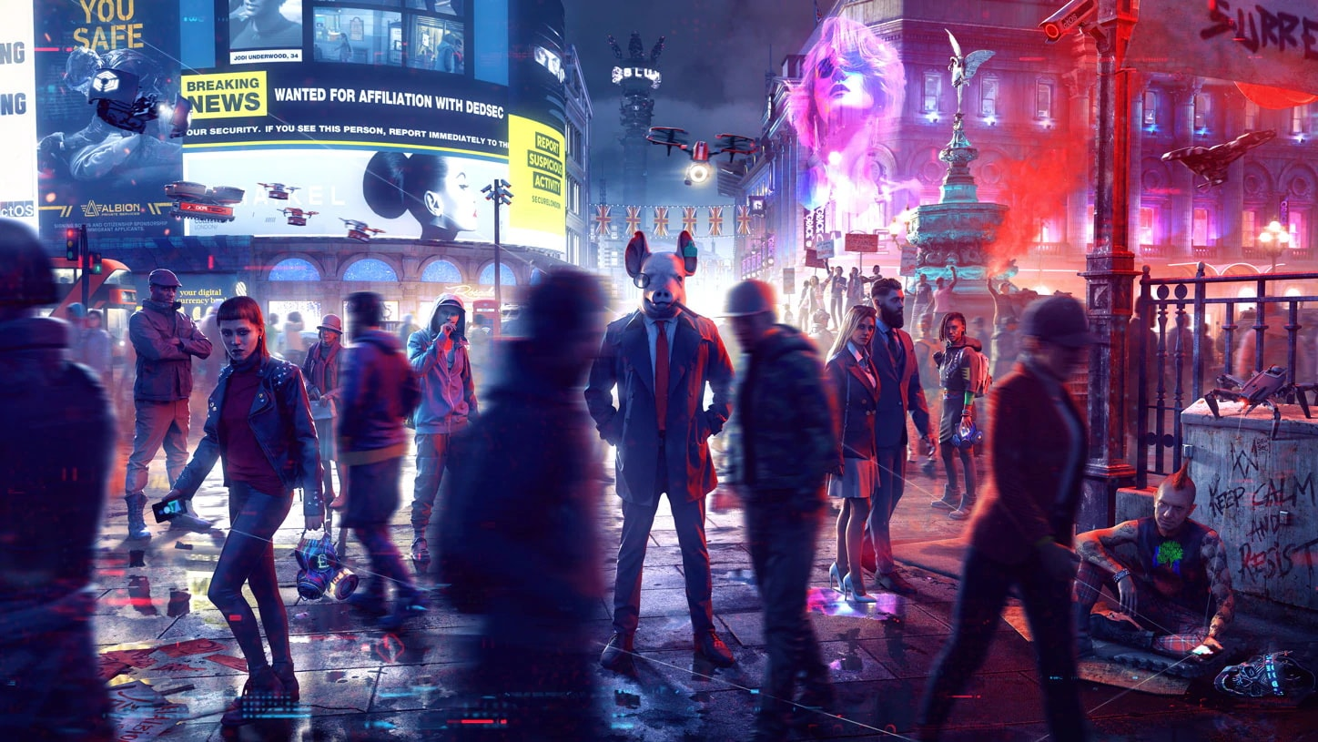 Watch Dogs: Legion' lets you be anyone, if you put in the work | Engadget