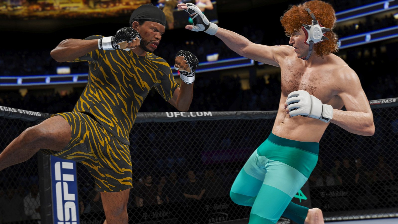 Ea S Ufc 4 Focuses On Your Fighter S Backstory Engadget