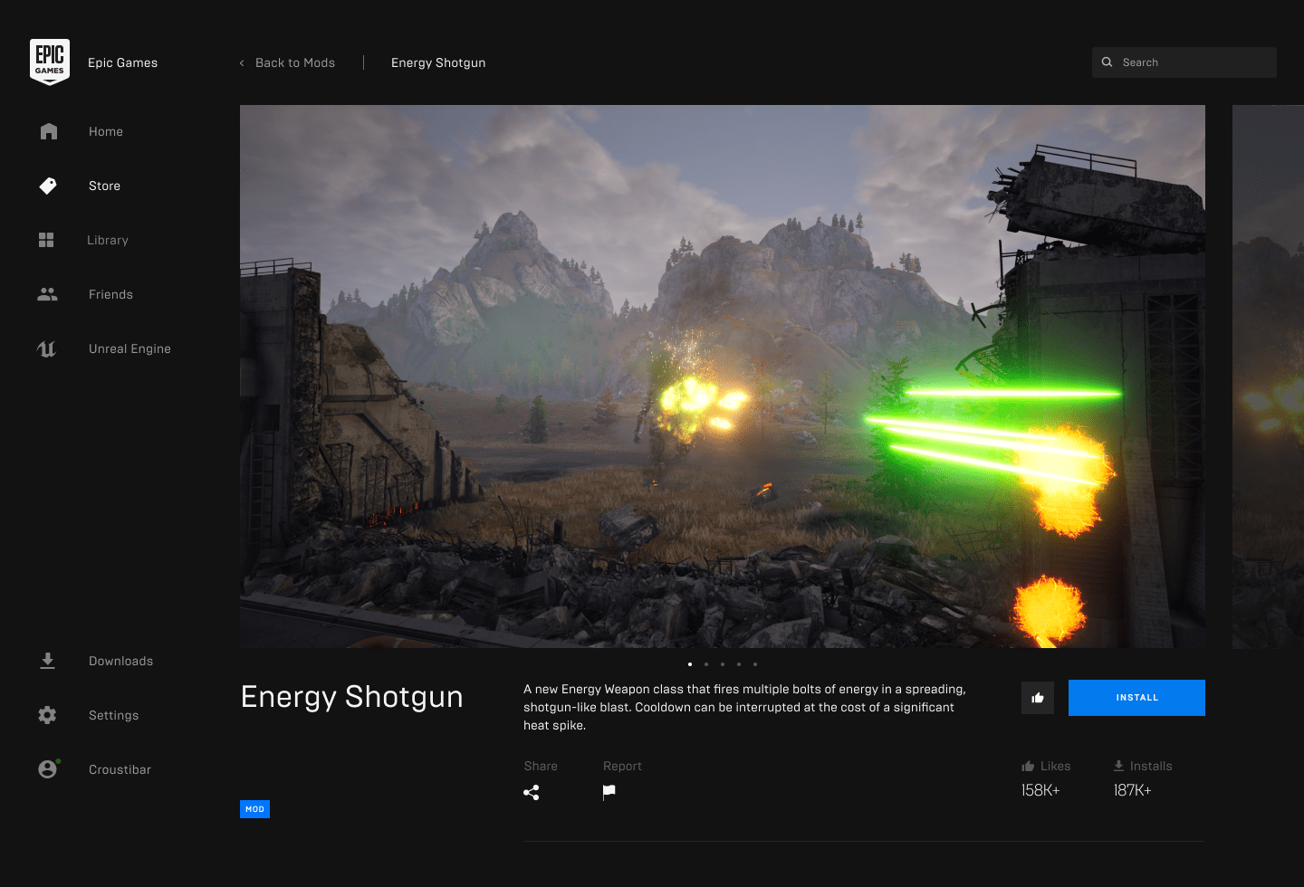 Epic Games Store Adds Support For Community Made Mods Engadget
