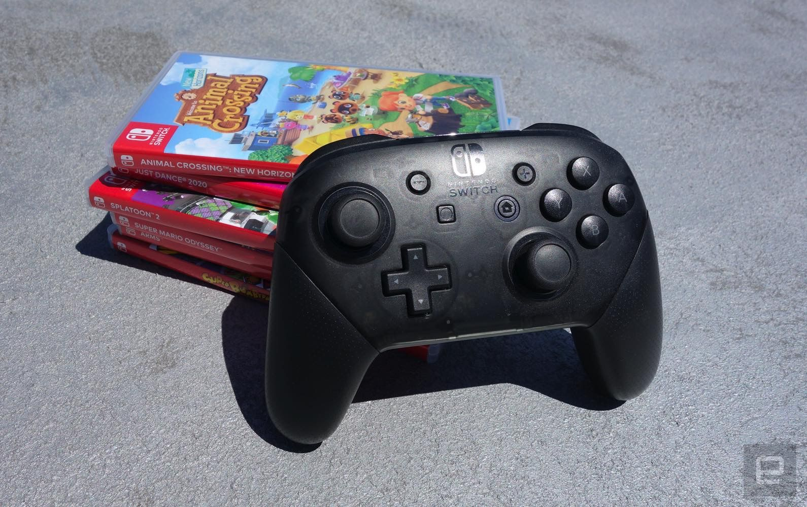 Nintendo Switch Pro Controller Drops To 59 At Amazon Engadget
