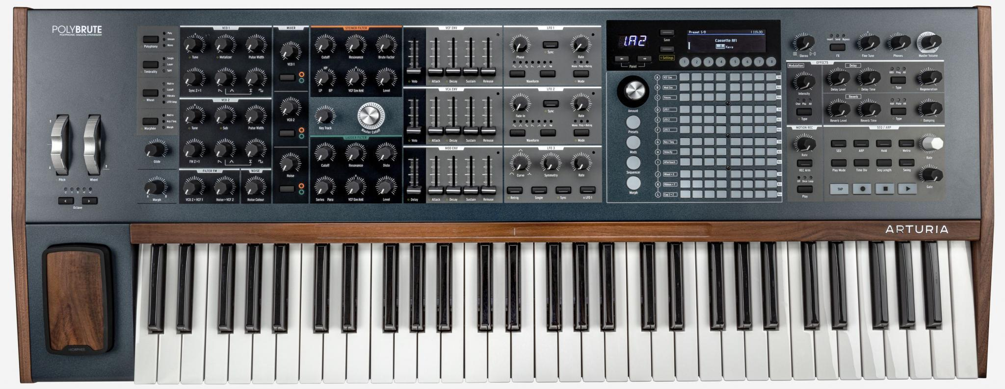 Arturia S Polybrute Is A Beastly Analog Synth With Infinite Control Engadget
