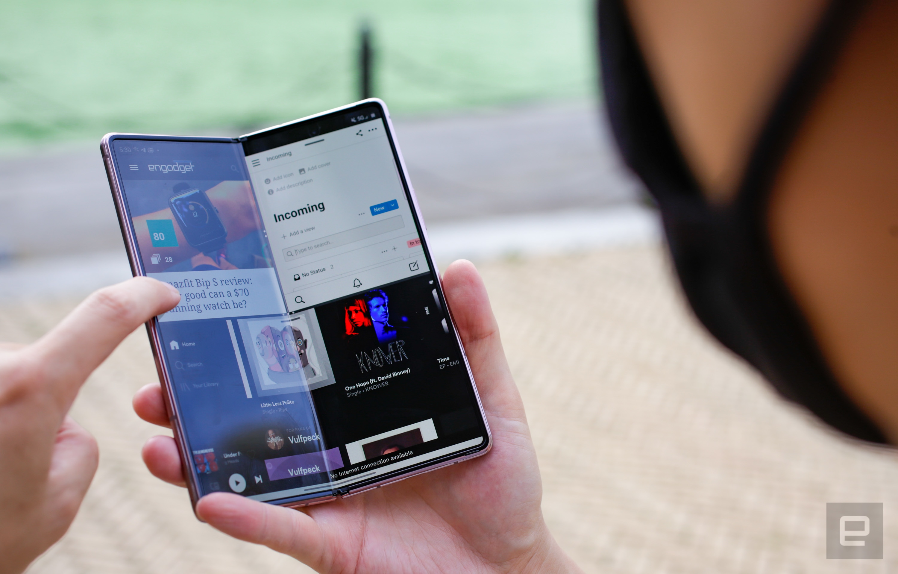 Samsung Galaxy Z Fold 2 Review Waiting On The World To Change Engadget