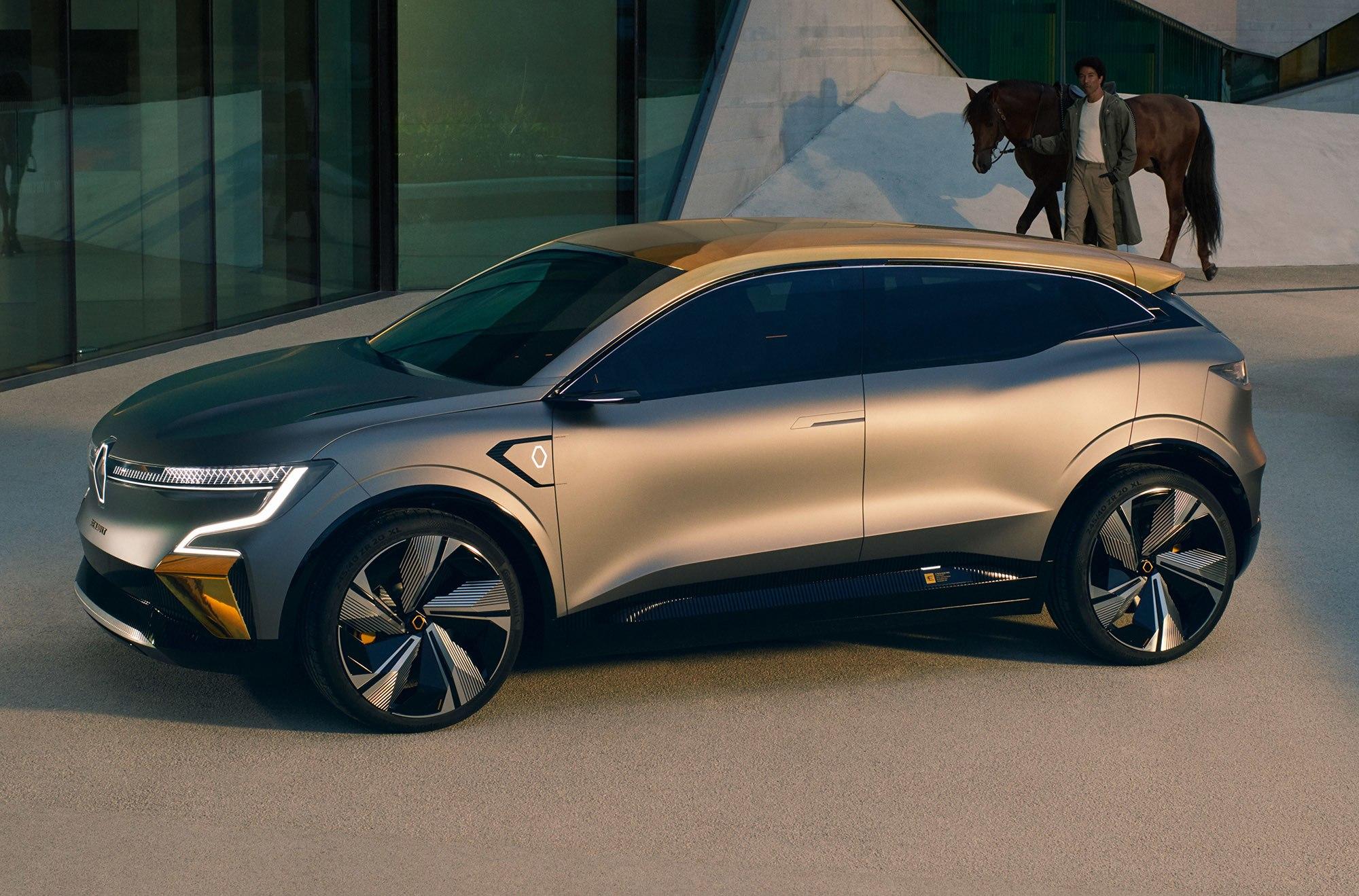 Renault S Megane Evision Concept Previews Its Future Ev Lineup Engadget