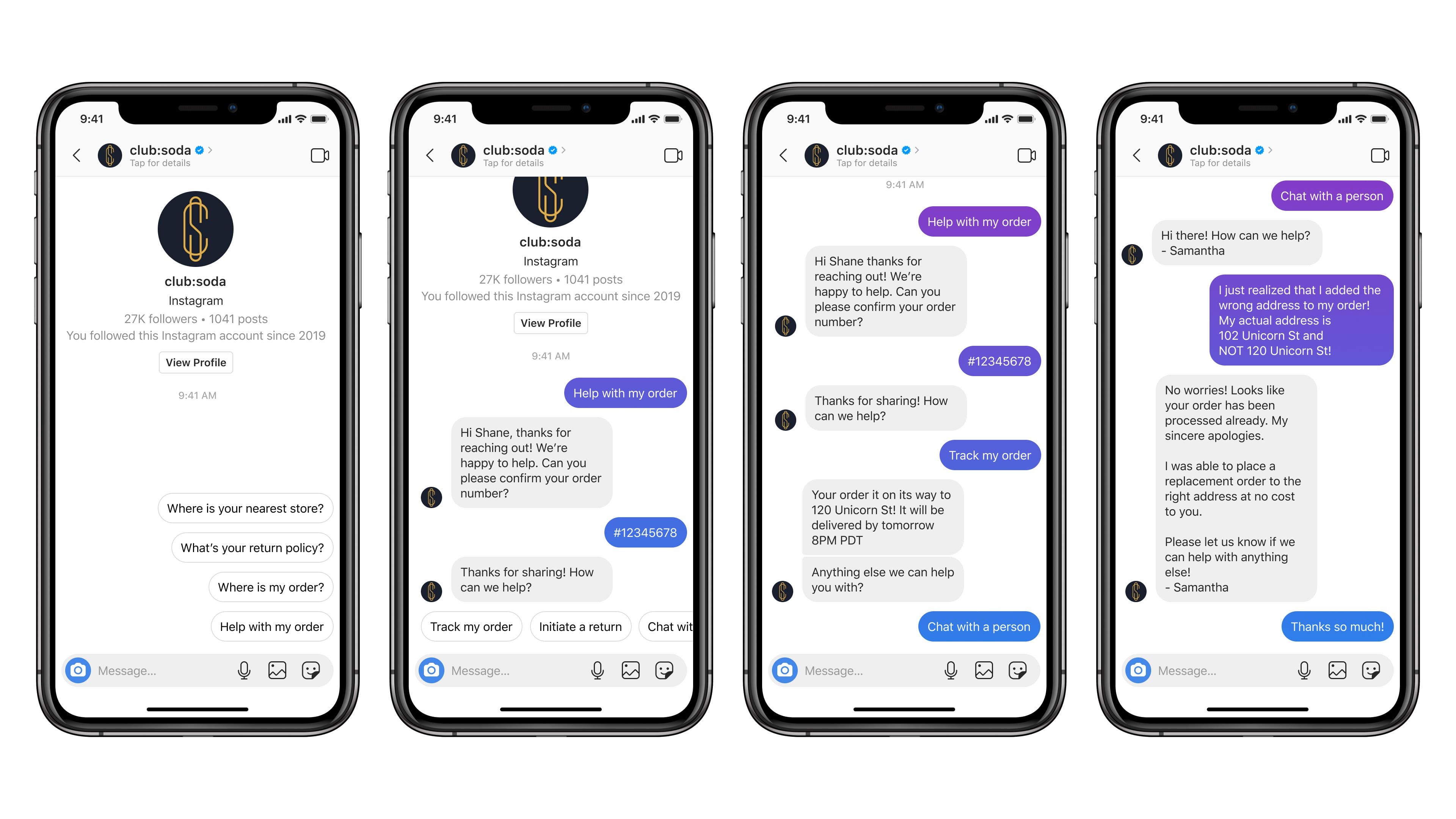 Customer Service Chats Are Coming To Instagram Dms Engadget