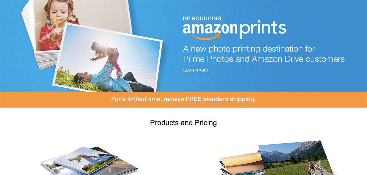 Amazon Takes Aim At Shutterfly With Photo Printing Service Engadget