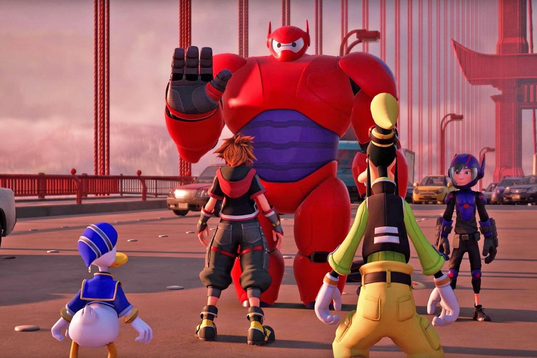 Kingdom Hearts 3 Trailer Shows Off Big Hero 6 World Engadget