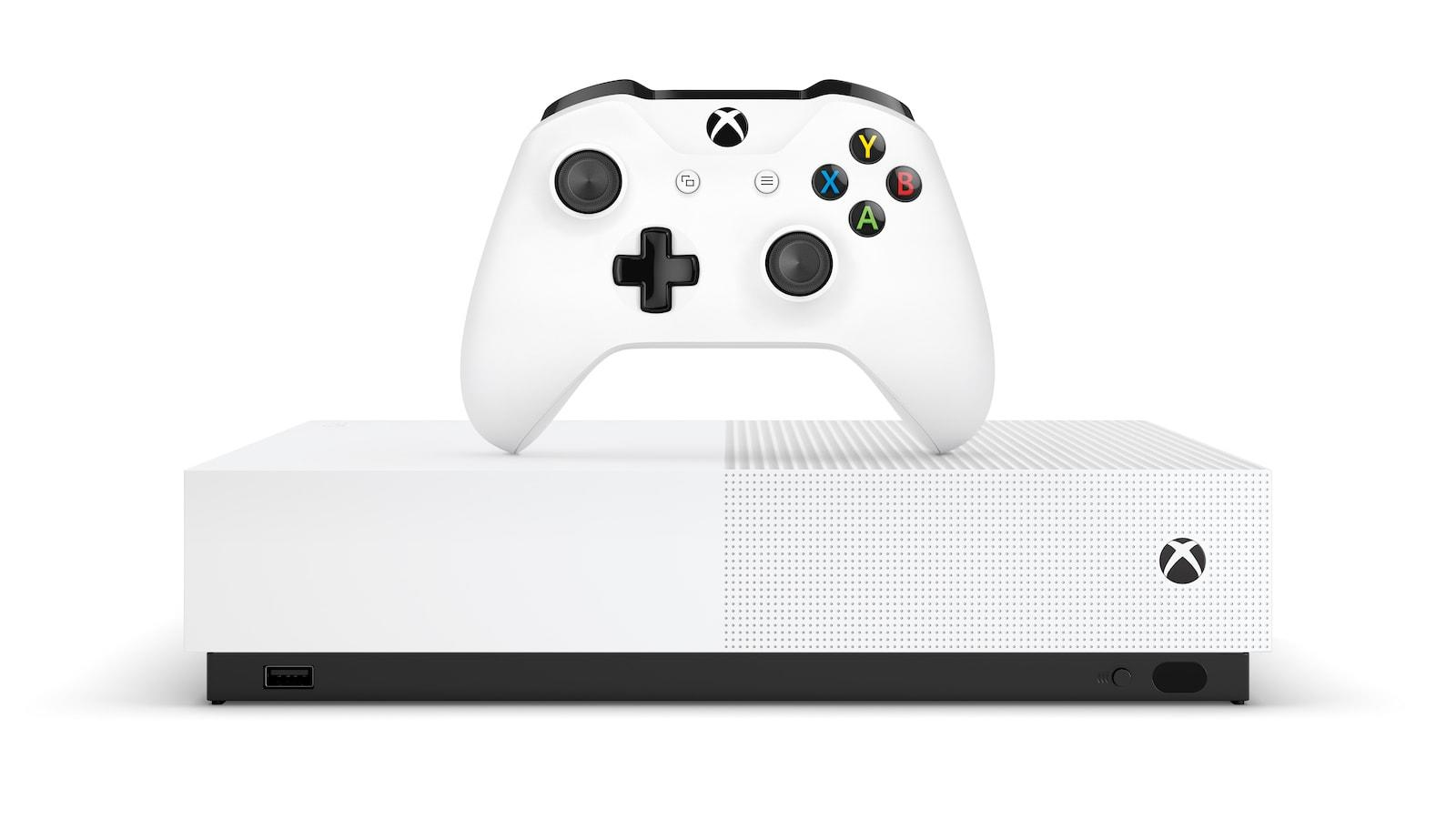 The Disc Free Xbox One S Hits Stores On May 7th For 250 Engadget