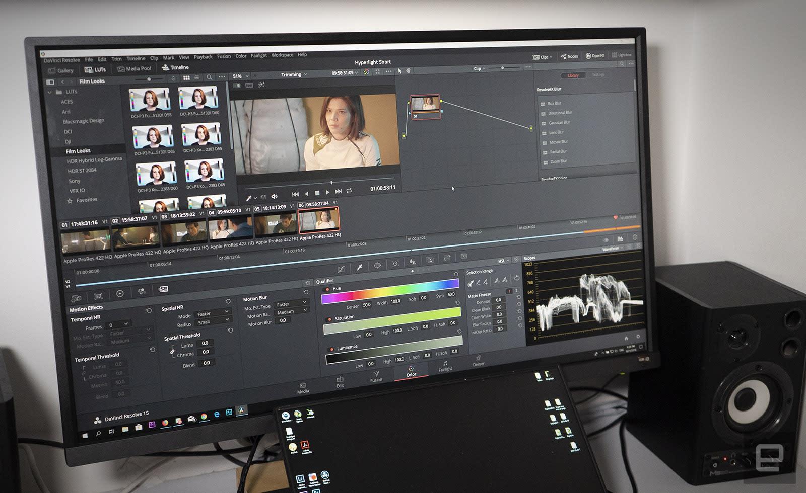 Davinci Resolve 15 Is A Free Hollywood Grade Video Editor Engadget
