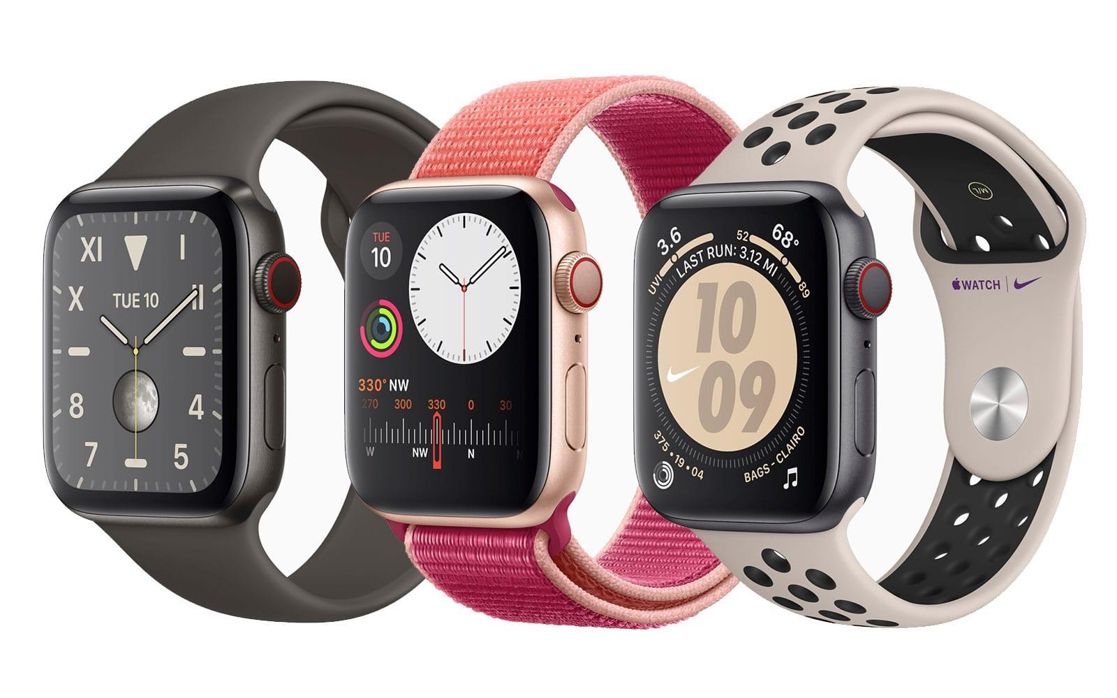 Apple Watch Series 5 features an always-on display | Engadget