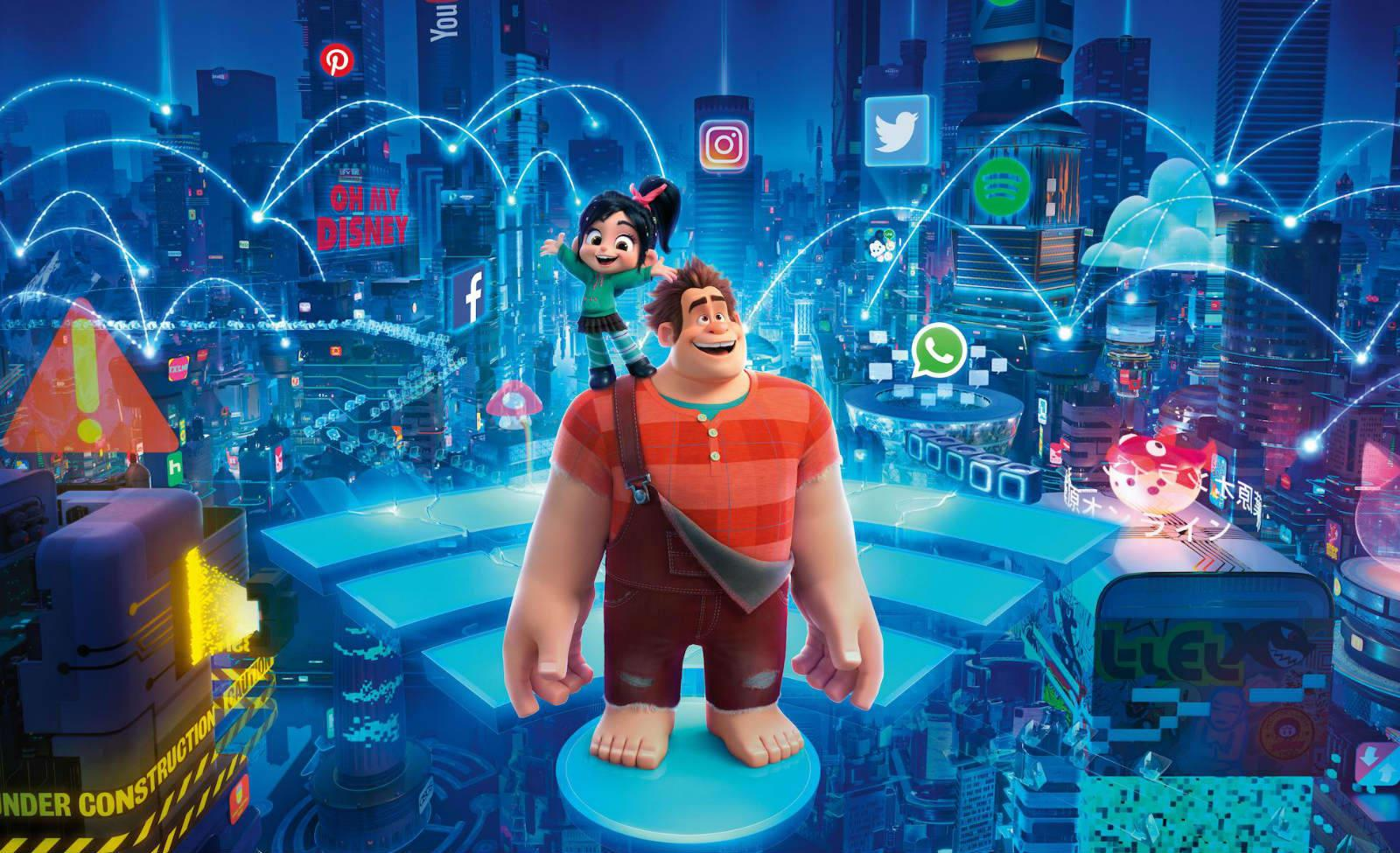 How The Creators Of Ralph Breaks The Internet Showed Two Sides To Life Online Engadget